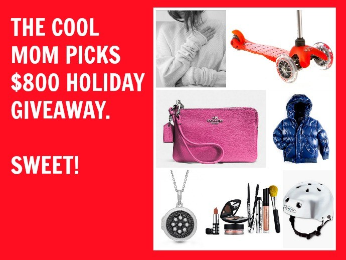 Holiday giveaway from Cool Mom Picks