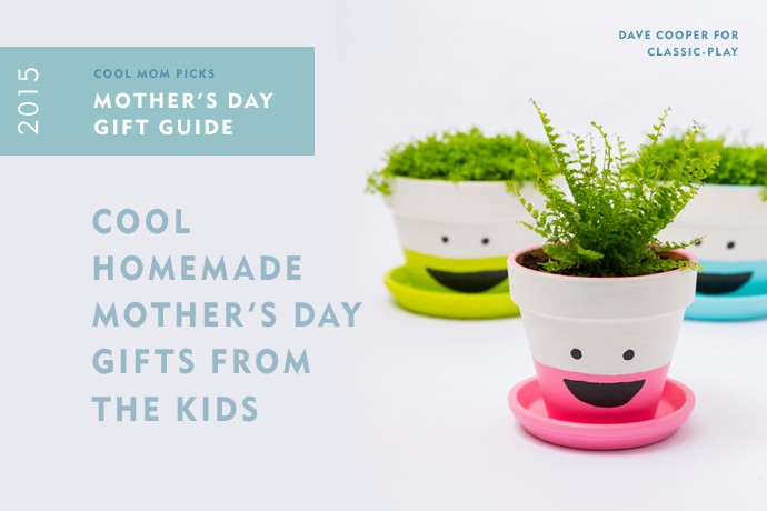 Cool homemade Mother's Day gifts from the kids