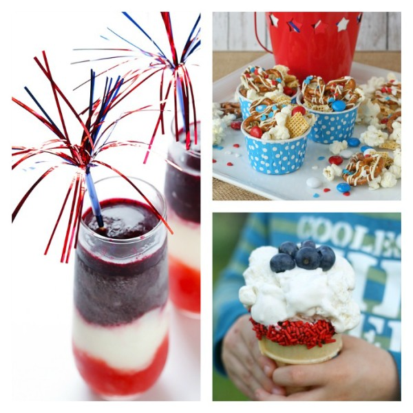 July 4th party ideas: Easy red, white and blue recipes on Cool Mom Picks
