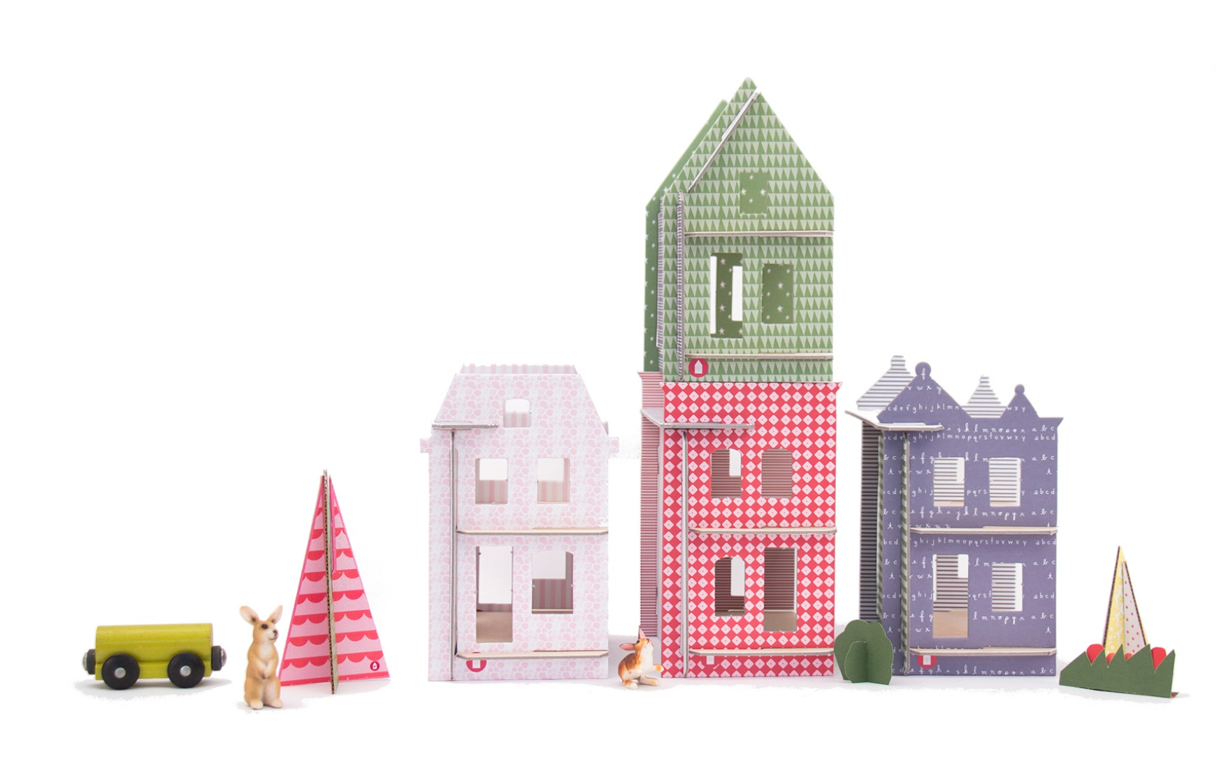 Lille Huset: The diy dollhouse kits we wish we had as kids.