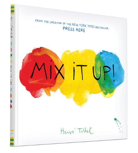 Mix It Up! A wonderful, interactive book for kids. No not an e-book, an actual book.