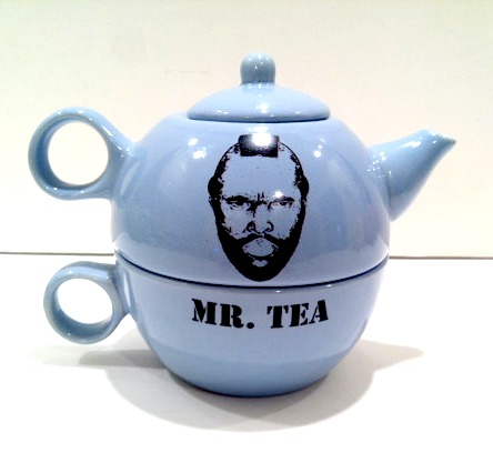 Mr T Mr Tea Teapot on Etsy