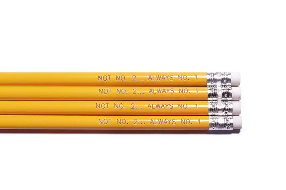 Cool Pencils for back to school: Not No. 2