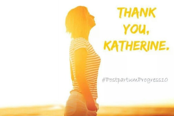 #postpartumprogress10 Thank you Katherine, from Cool Mom Picks