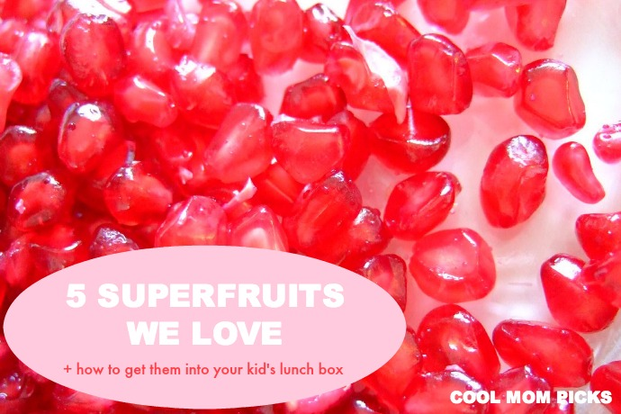 Superfruits: How to pack 5 favorites as part of a super-boosted, healthy school lunch.