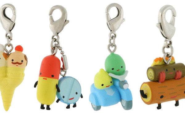 Fun zipper pulls for kids at Kid Robot