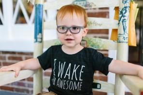 Stylish kids' prescription glasses with a warranty you won't believe. (Because it's unbelievable.)