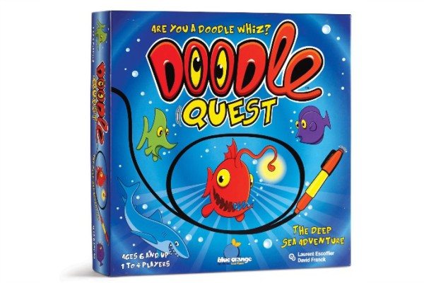 Doodle Quest game for kids | review at coolmompicks.com