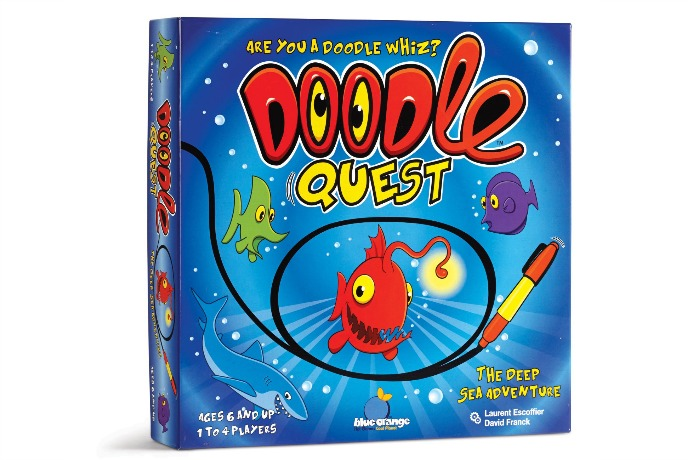 Game closet refresher: Doodle Quest challenges grown ups, too
