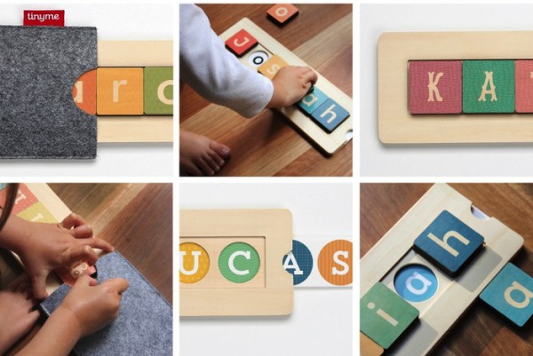 Best Gifts for a Two-Year-Old: TinyMe Name Blocks