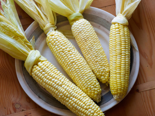 4 easy ways to cook corn on the cob at coolmompicks.com: Oven Baked Corn at Food Network