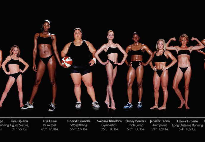 Howard Schatz's professional female athletes photo series | Cool Mom Picks