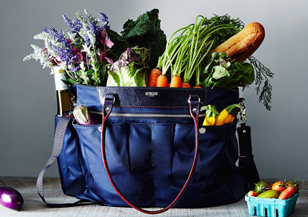 MZ Wallace Market Tote supports Alice Waters' Edible Schoolyard