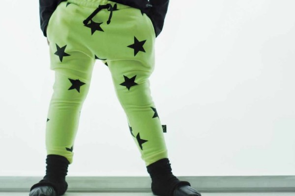 Cool Mom Picks' favorite funky print pants | Nununu green star leggings