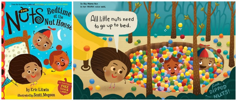 We're nuts for Eric Litwin's Bedtime at the Nut House. (Yeah, we went there.)