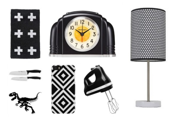 Black and white decor at Target |Curated by Cool Mom Picks