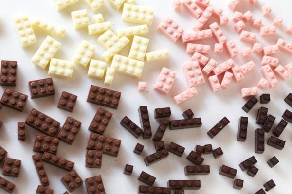 Chocolate LEGO blocks by Akihiro Mizuuchi   Cool Mom Picks