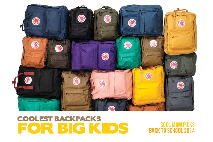 The coolest backpacks and bags for big kids: Back to School Guide 2014