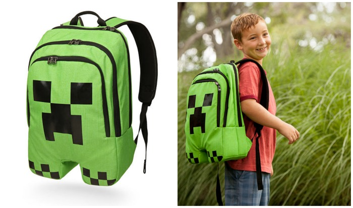 Creeper Minecraft Backpack at Think Geek
