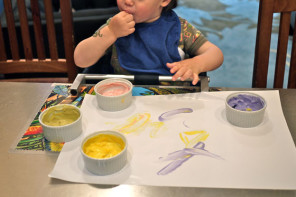 5 edible finger paint recipes for artists who find their work delicious