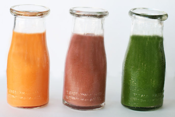 Juice Recipes with Veggies: Kid Cleanse Smoothies from Small Fry Blog