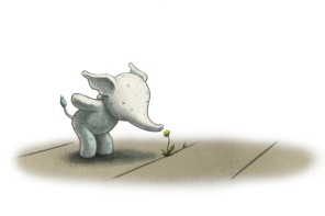 Little Elliot, Big City: The next big thing in children's picture book characters. Or, little thing.