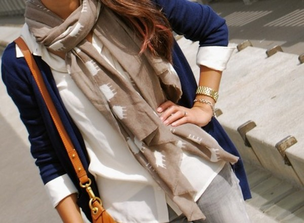 Mia Berglund scarves for fall
