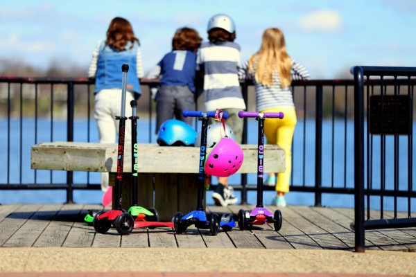 Micro Kickboard Scooter safety tips for kids
