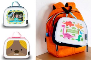 These cute personalized lunch boxes that go beyond monograms and first names