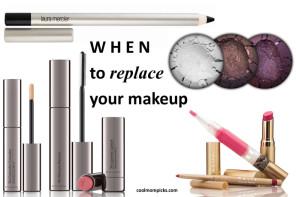 When to replace makeup? An easy, common sense, non-alarmist guide