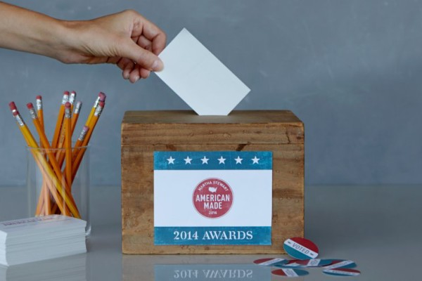Martha Stewart American Made awards: you vote!