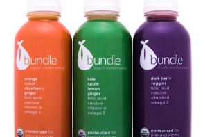 Bundle Organics: Prenatal juice for pregnant moms and those babies-to-be