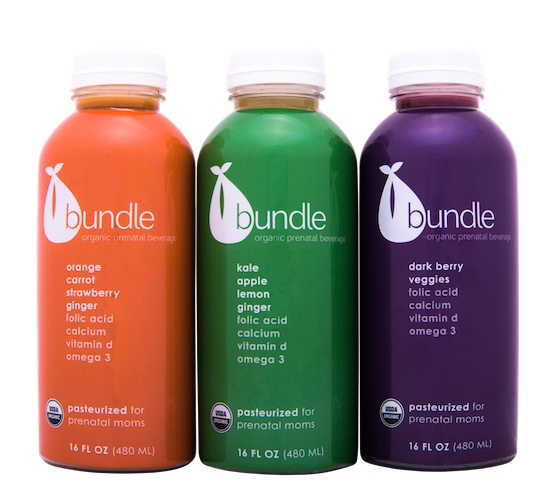 Bundle Organics prenatal juice for pregnant moms