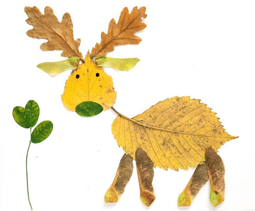 DIY leaf crafts for kids on Cool Mom Picks