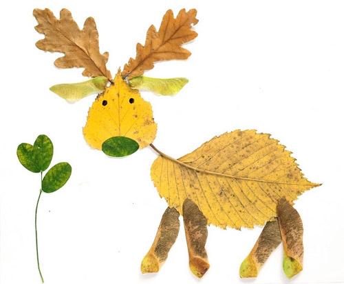 DIY leaf crafts for kids on Cool Mom Picks