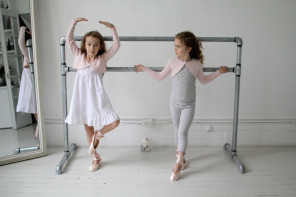 The ultimate cashmere shrug for the world's cutest flower girls and imaginary ballet legends.