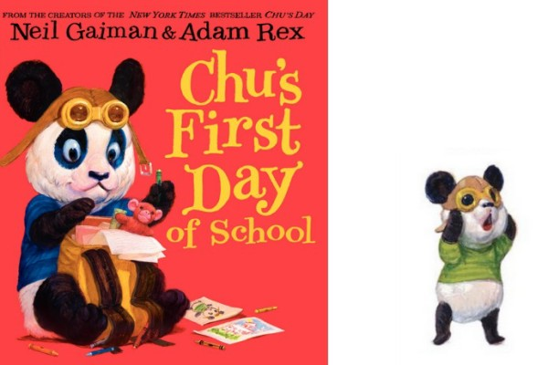 Chu's First Day of School by Neil Gaiman + Adam Rex