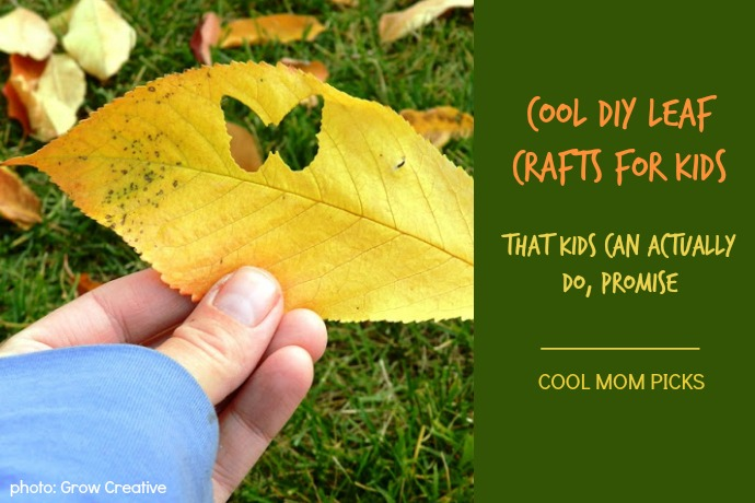 Cool DIY leaf crafts for kids that kids can actually do | Cool Mom Picks