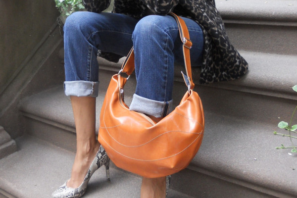Faux leather hobo bags for fall from Crystalyn Kae