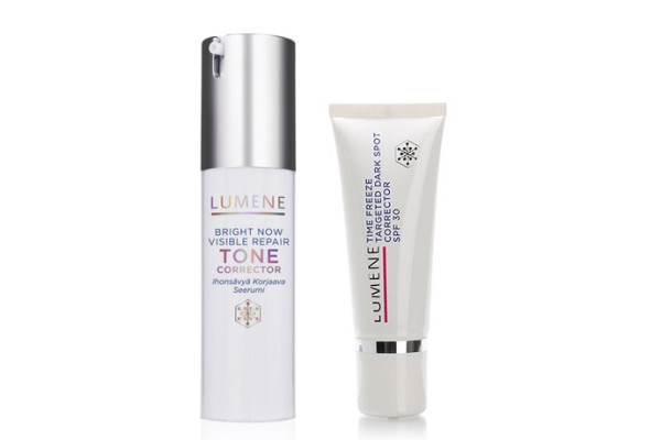 Sun damage dark spot corrector: Lumene products review at coolmompicks.com