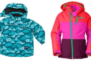 Brighten up your winter with cool, colorful jackets for kids