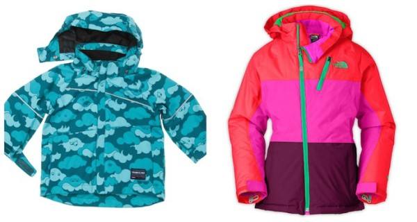 Winter jackets for kids on coolmompicks.com   Polarn O. Pyret and Northface