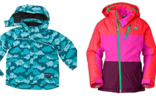 Winter jackets for kids on coolmompicks.com | Polarn O. Pyret and Northface