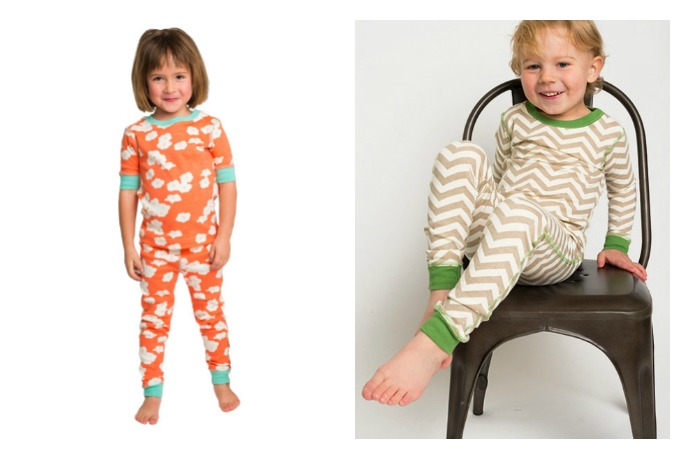 Banish bedtime blues with katebaby's colorful organic kids' pajamas