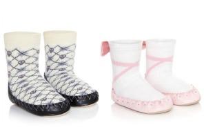 Traditional Swedish slipper socks get a lot less traditional