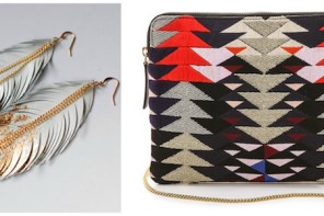 Navajo-inspired accessories with a modern twist: this fall's best trend