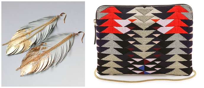 Navajo-inspired accessories with a modern twist: this fall's big trend