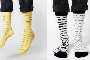 Book lover socks by Out of Print Clothing on Cool Mom Picks