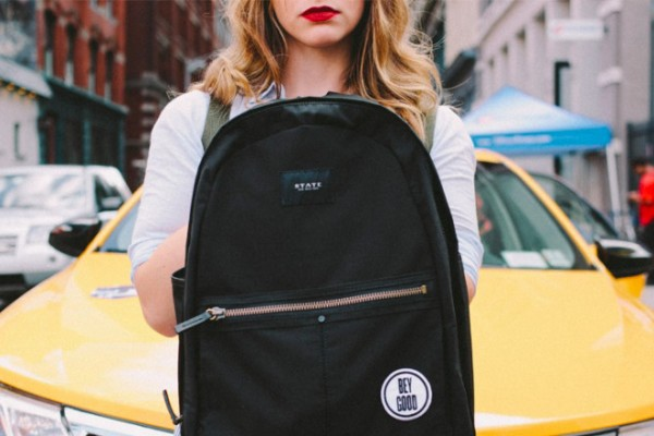 Beygood x State Union backpack that gives back | Cool Mom Pick