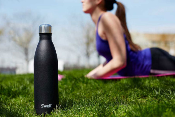 Fantastic insulated water bottle: S'well Water Bottle in Onyx